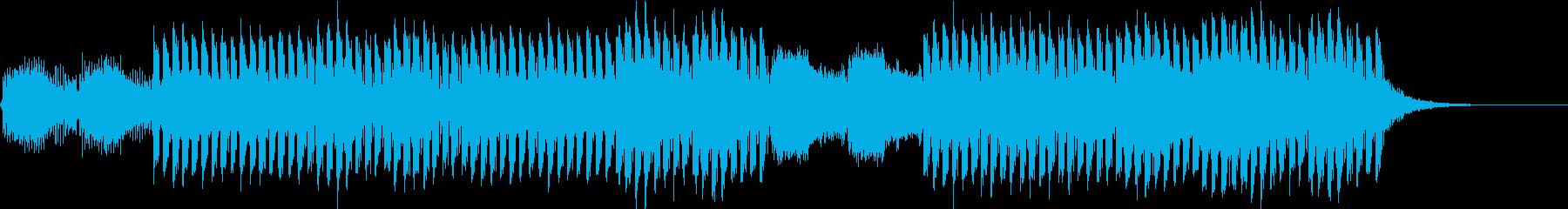 おしゃれかっこいいEDMジングル4の再生済みの波形