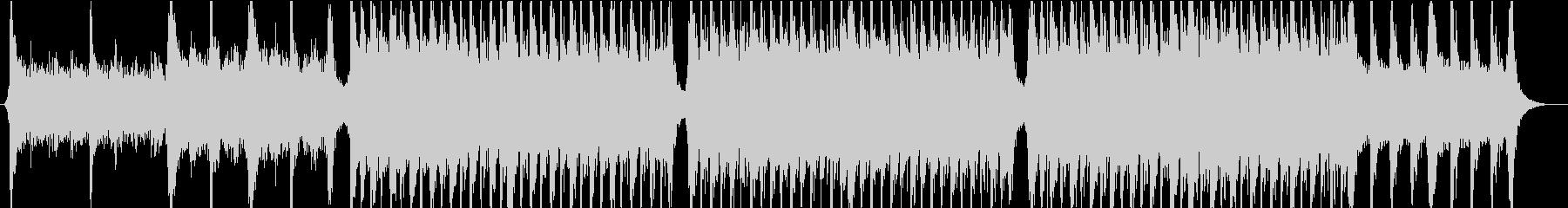 トレイラー風オーケストラ曲の未再生の波形