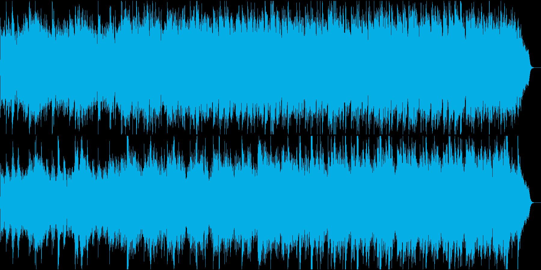 和風・日本の風情・情緒①全楽器入りの再生済みの波形