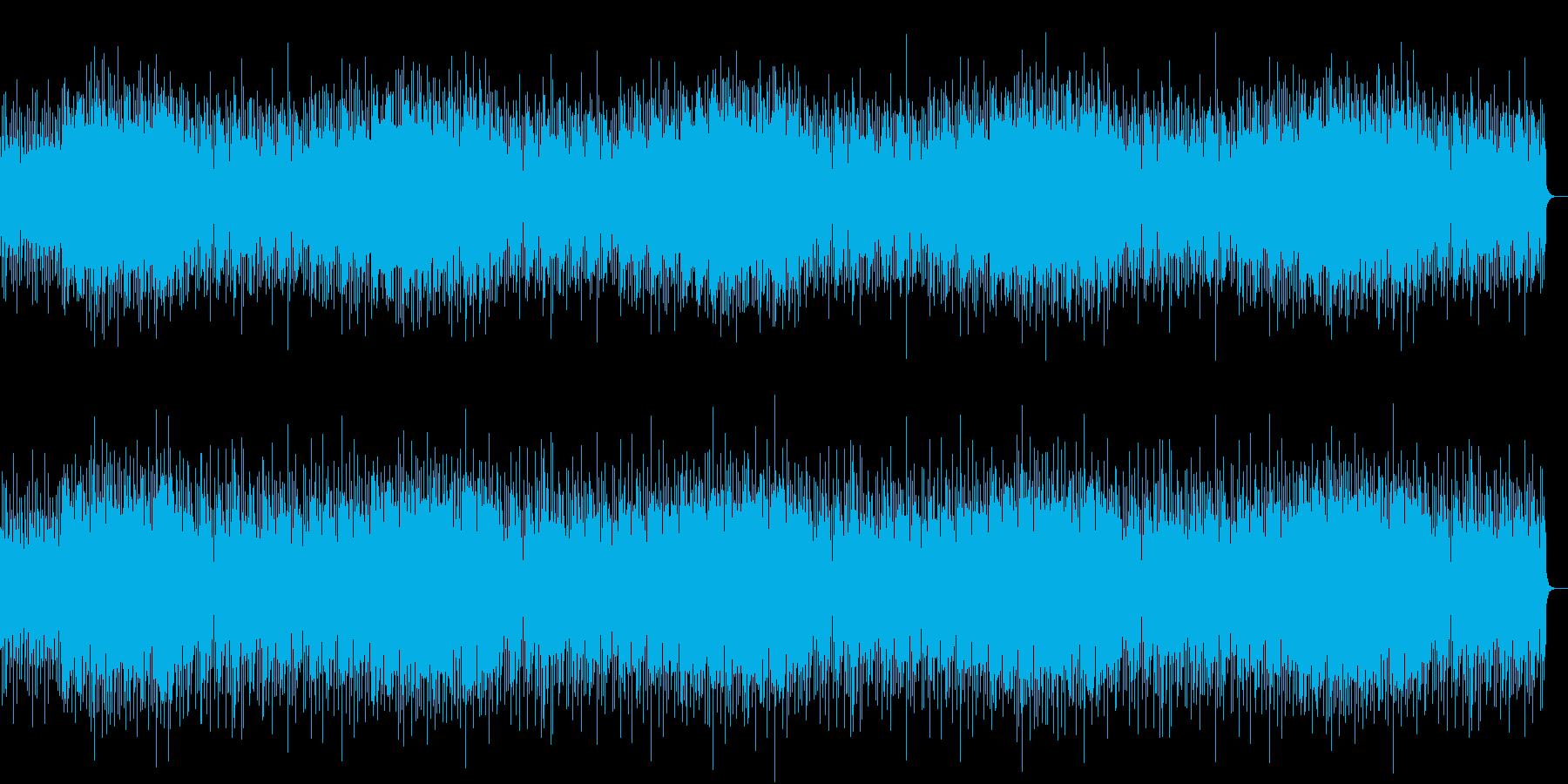 ビーチをイメージ、まったりしたチルアウトの再生済みの波形