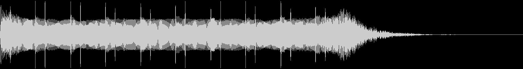 シネマティック:10カウントの未再生の波形