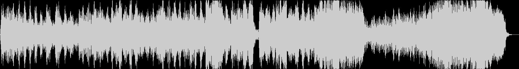 バッハ 無伴奏チェロ組曲「プレリュード」の未再生の波形