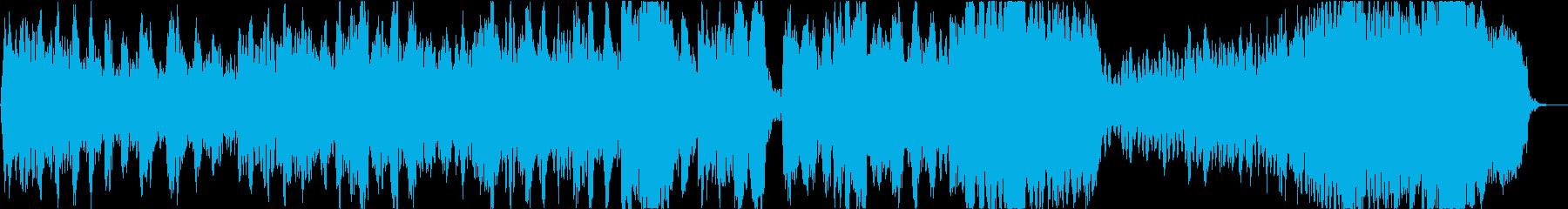 バッハ 無伴奏チェロ組曲「プレリュード」の再生済みの波形