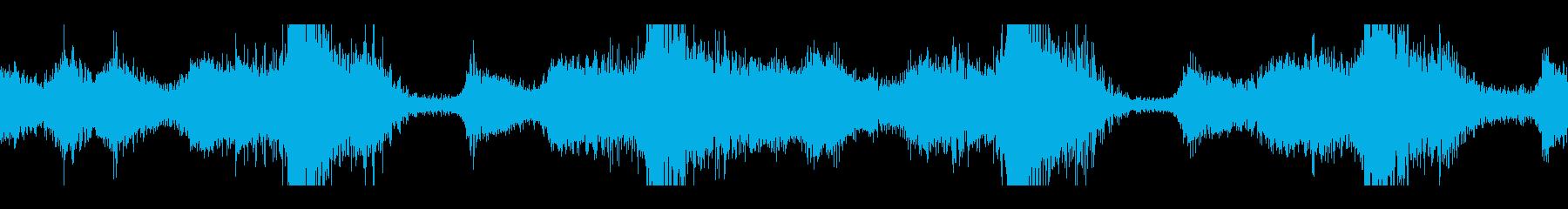 液体のようなバリエーションの上昇/...の再生済みの波形