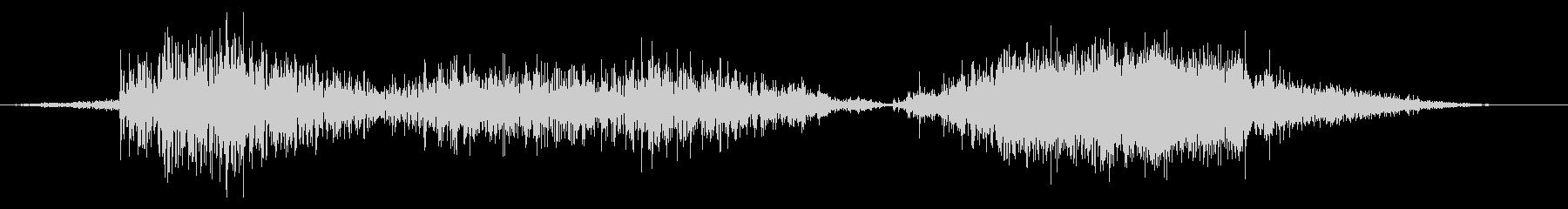 スネーク モンスター ダメージ 中の未再生の波形