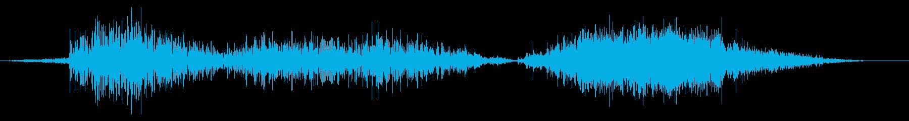 スネーク モンスター ダメージ 中の再生済みの波形