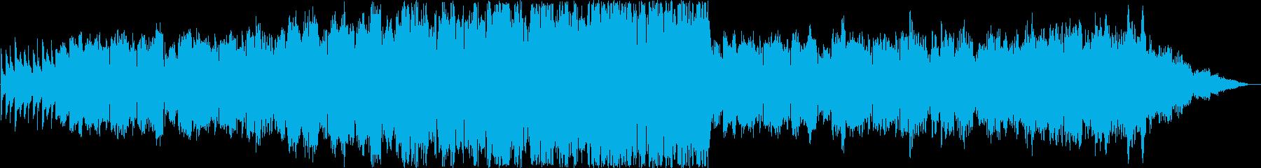 哀しげなシンセ・管楽器サウンドの再生済みの波形