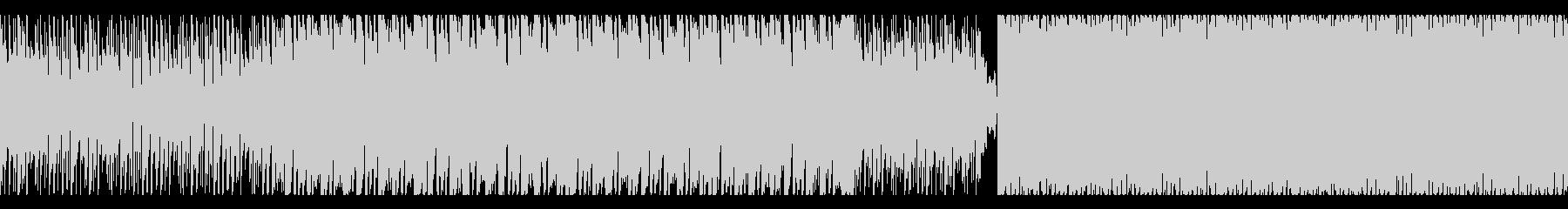 高速の電子空間戦闘曲【1分ループ曲】の未再生の波形