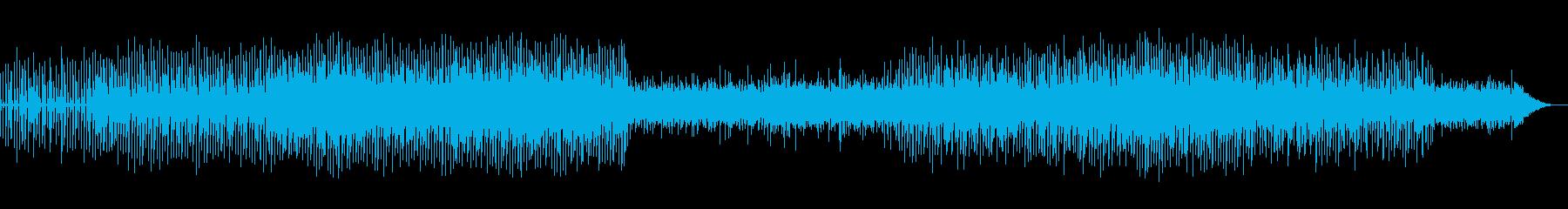 時の流れを感じるBGMの再生済みの波形