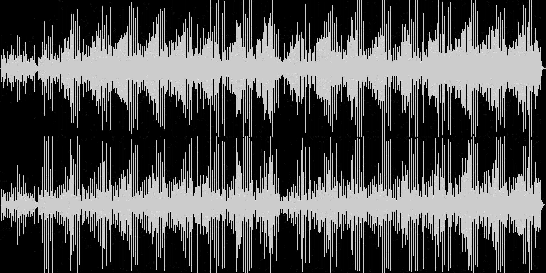 ほのぼの軽快なアコースティックメロディの未再生の波形