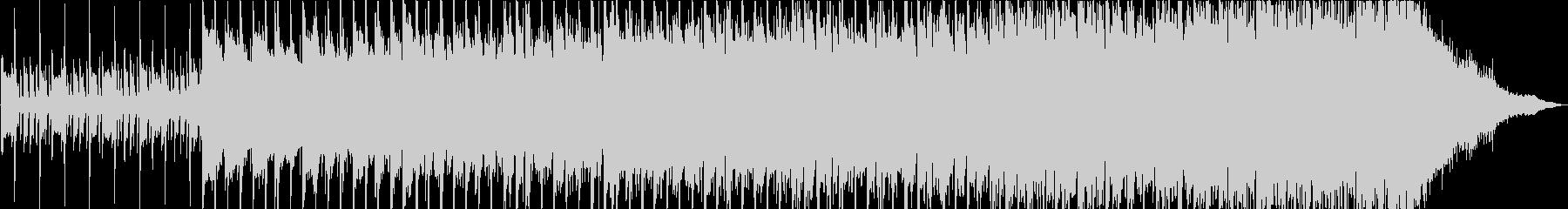躍動するギターポップロックの未再生の波形