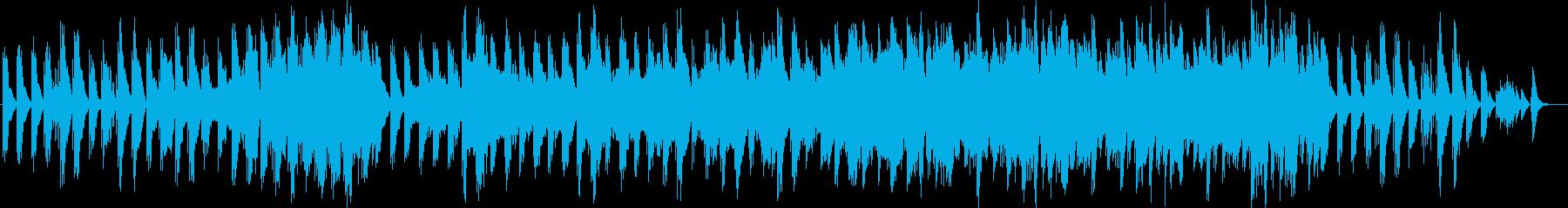 ハープによる癒しのメロディーの再生済みの波形