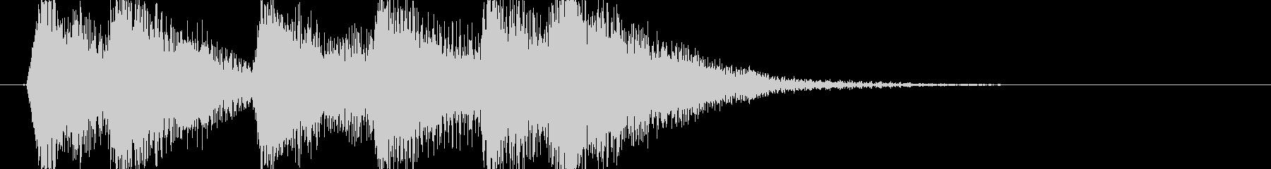 弦 オーケストラヒット 旋律の未再生の波形