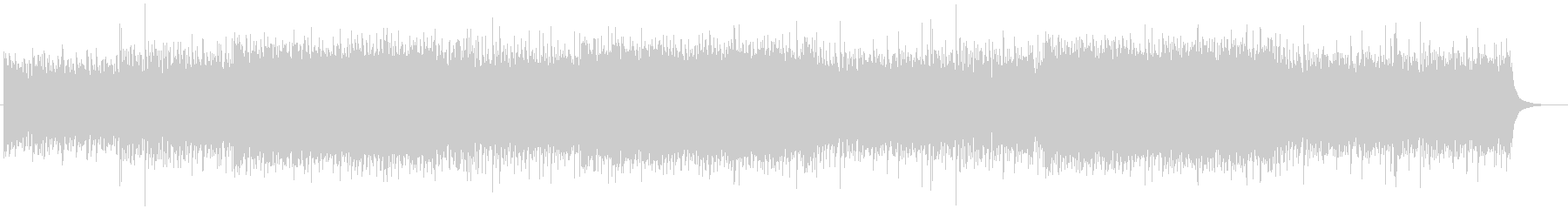 Refreshing, positive and transparent corporate background music's unreproduced waveform