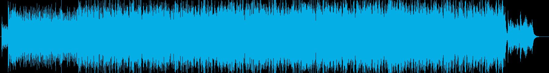 熱狂の洋楽ゴスペルライブの再生済みの波形