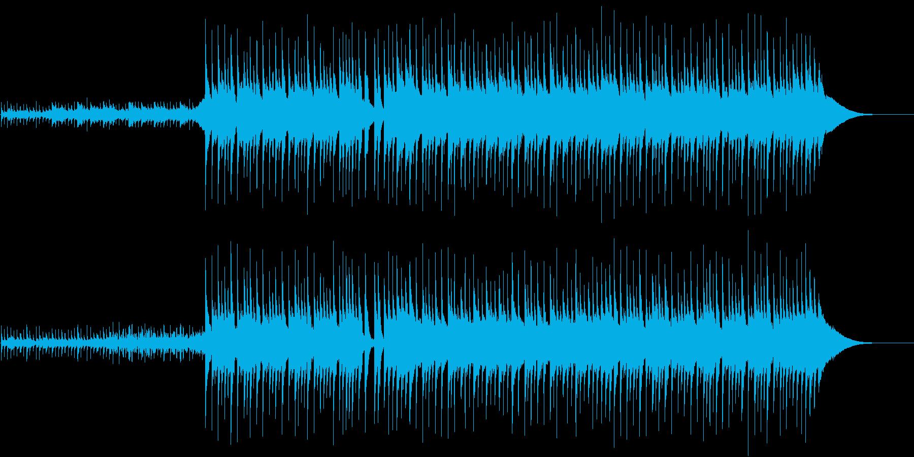 不思議なリズムの明るいポップスの再生済みの波形