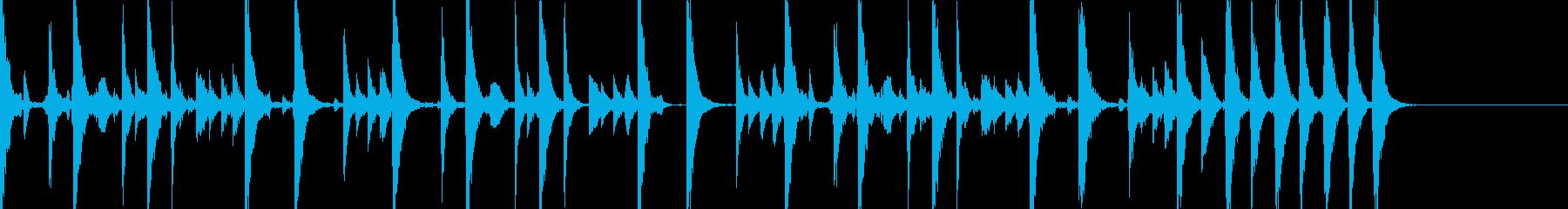 EDM ビルドアップ用サンプルの再生済みの波形