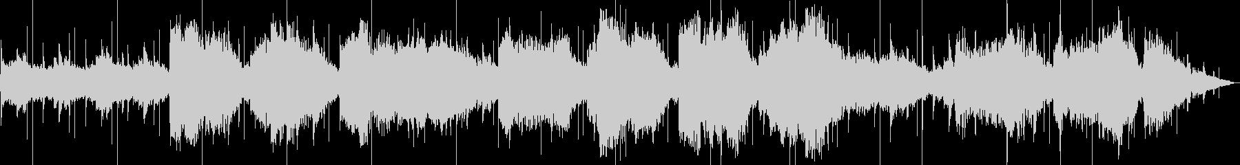 大きなフルートフックのメロディーを...の未再生の波形