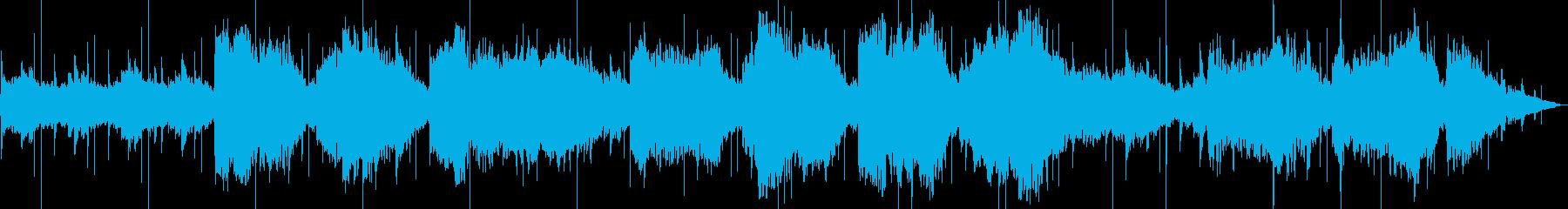 大きなフルートフックのメロディーを...の再生済みの波形