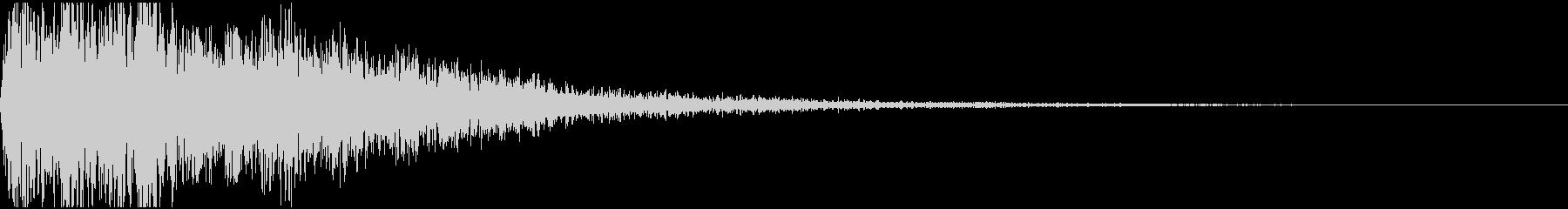 【シネマティック 】 衝撃音_08の未再生の波形