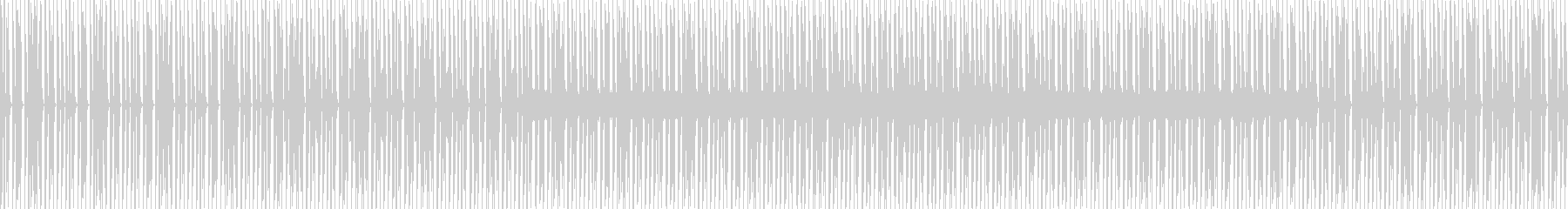 マイナーコードで怪しい感じのBGMの未再生の波形