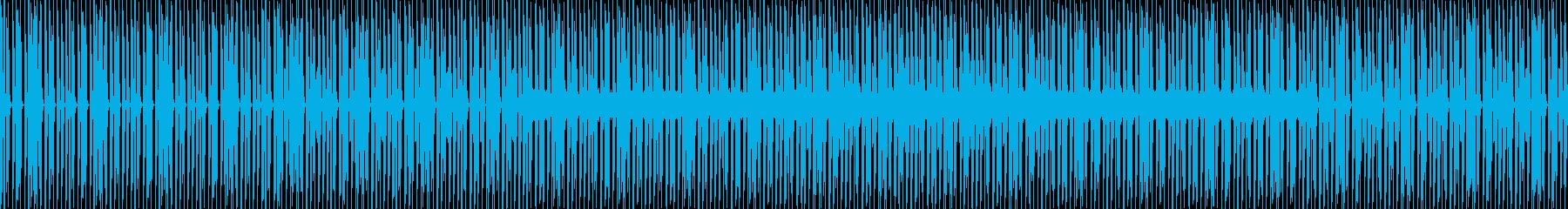 マイナーコードで怪しい感じのBGMの再生済みの波形