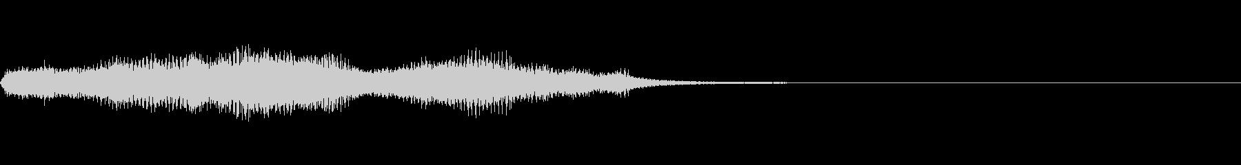 ショッキング(ホラー・ノイズ有り)8の未再生の波形