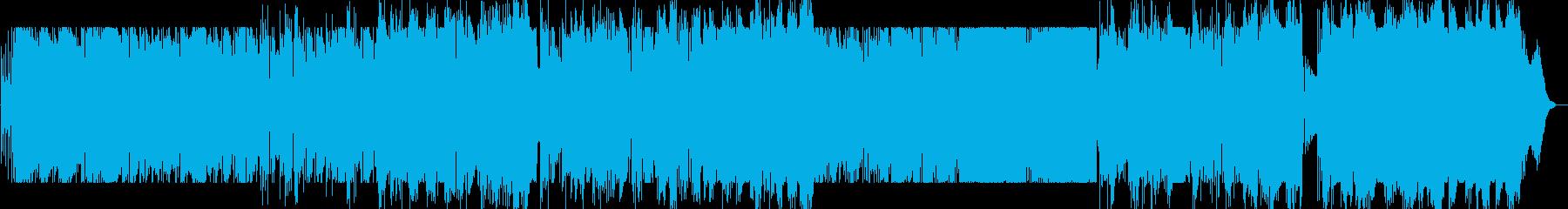 Jazzyなブルースバラード(日米録音)の再生済みの波形