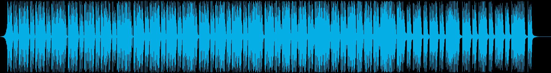 ポップな Future Bassの再生済みの波形