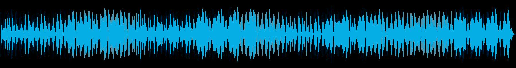ほのぼの、コメディ系アコースティック日常の再生済みの波形