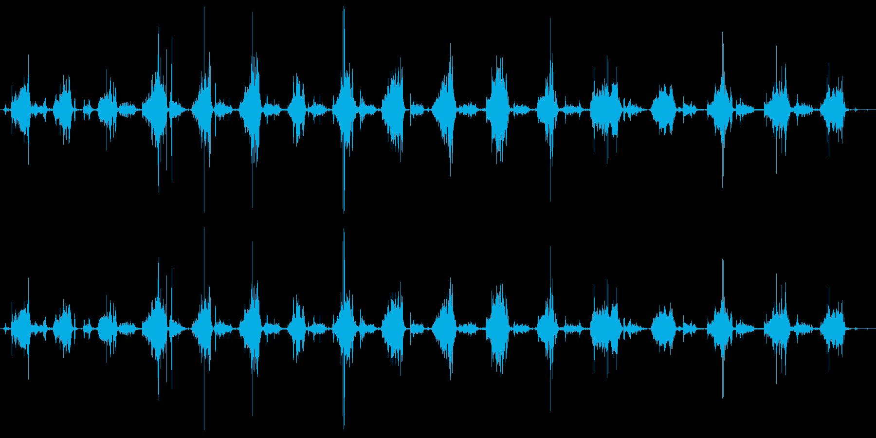 ハンドプレーン:ロングパスオーバー...の再生済みの波形