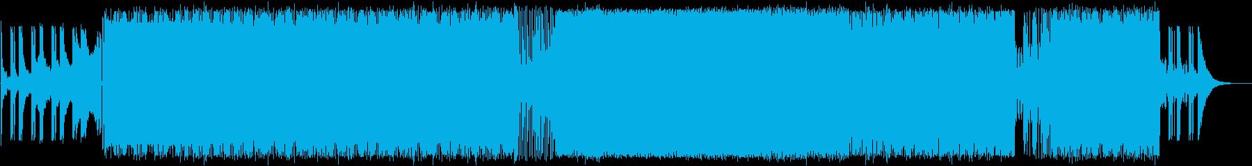 爽やかで明るいエレクトロハウスの再生済みの波形