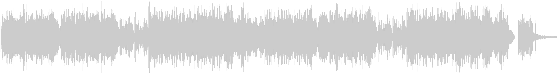 蛍をイメージしたソロピアノの未再生の波形