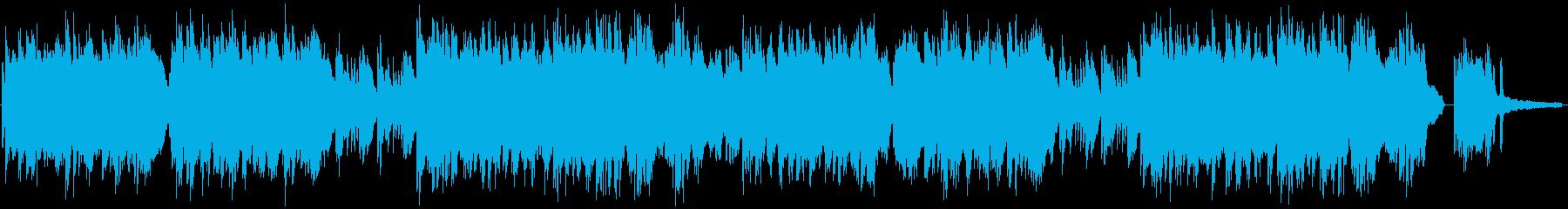 蛍をイメージしたソロピアノの再生済みの波形