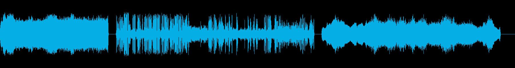 コンピューター内部X3の再生済みの波形