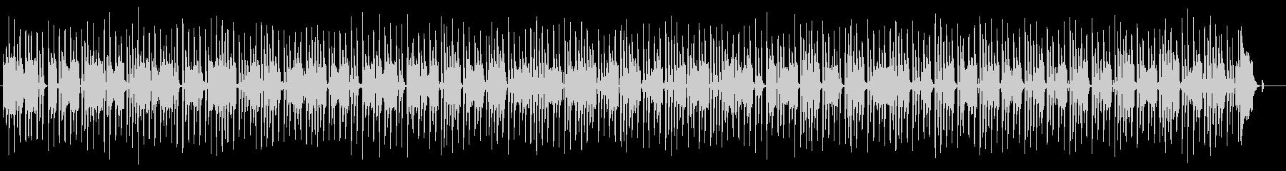 メロトロンとピアノによる哀愁ポルカの未再生の波形