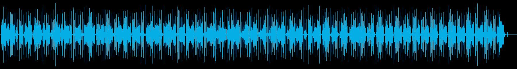 メロトロンとピアノによる哀愁ポルカの再生済みの波形