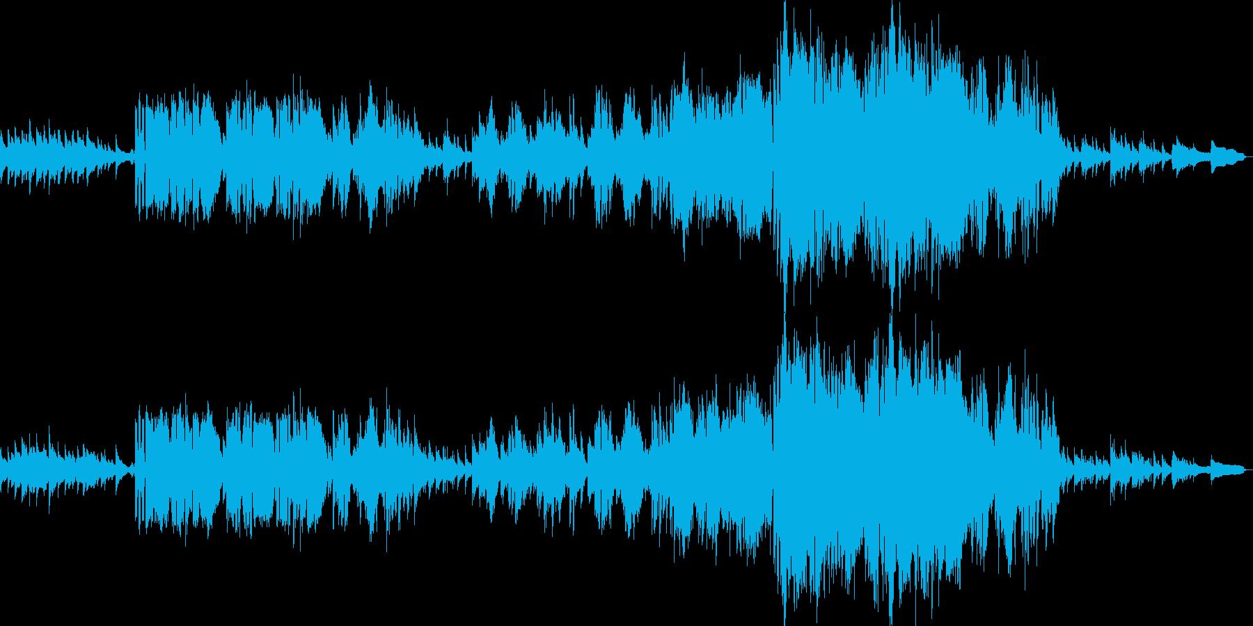 英語女性ボーカル・ディズニーバラード風の再生済みの波形