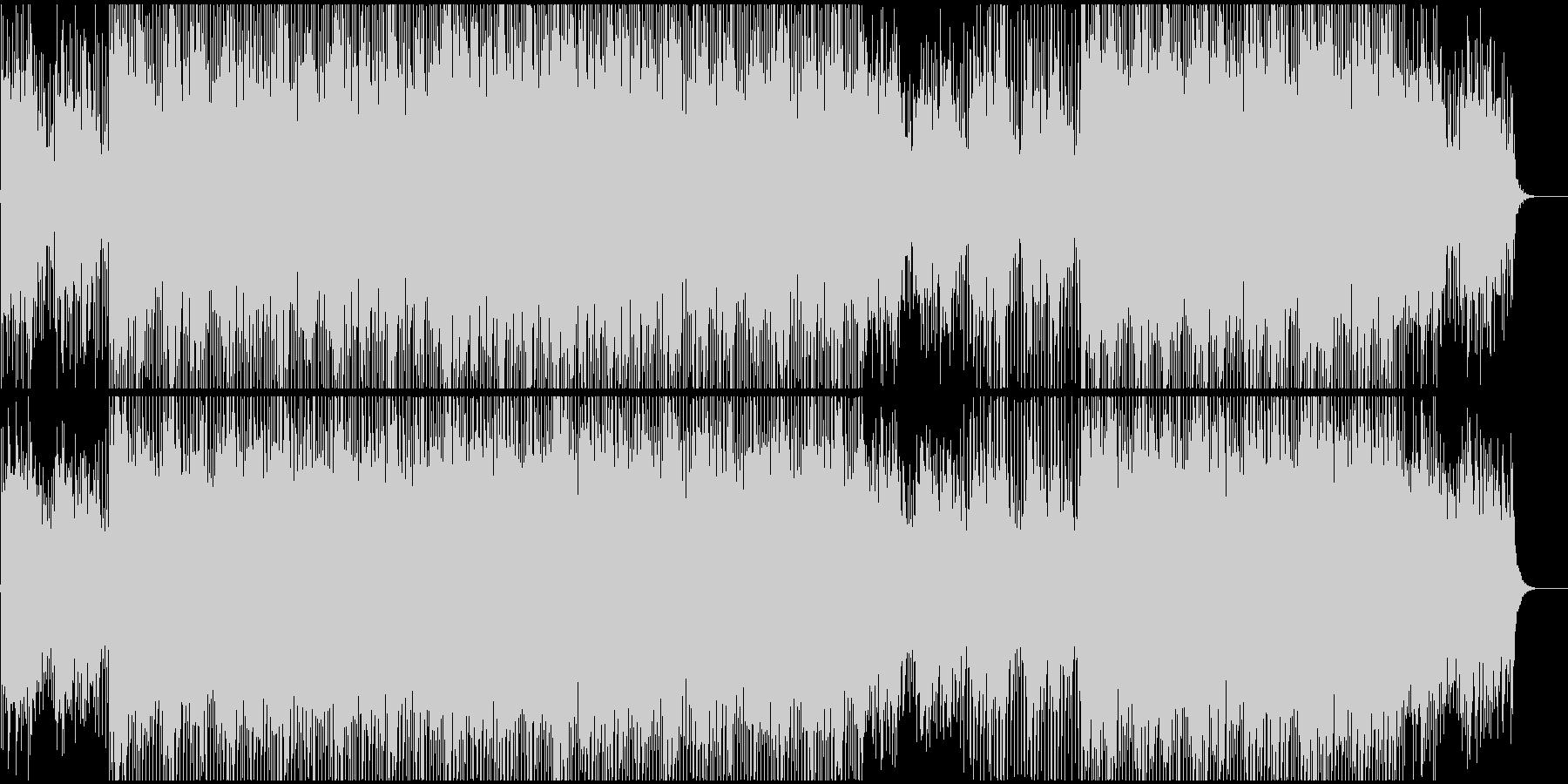 CMやVPに 企業プレゼン系ピアノ前向きの未再生の波形