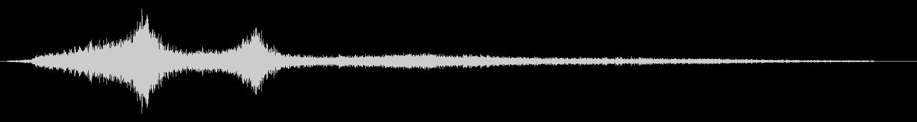 ホラー映画に出てきそうなノイズ系音源18の未再生の波形