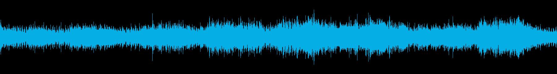 アンビエントのヒーリング曲です。戦火の再生済みの波形