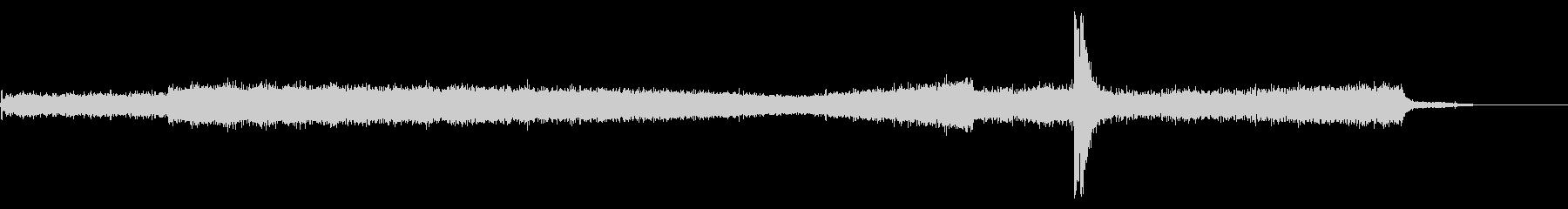 L-1011ジェット旅客機:内線:...の未再生の波形