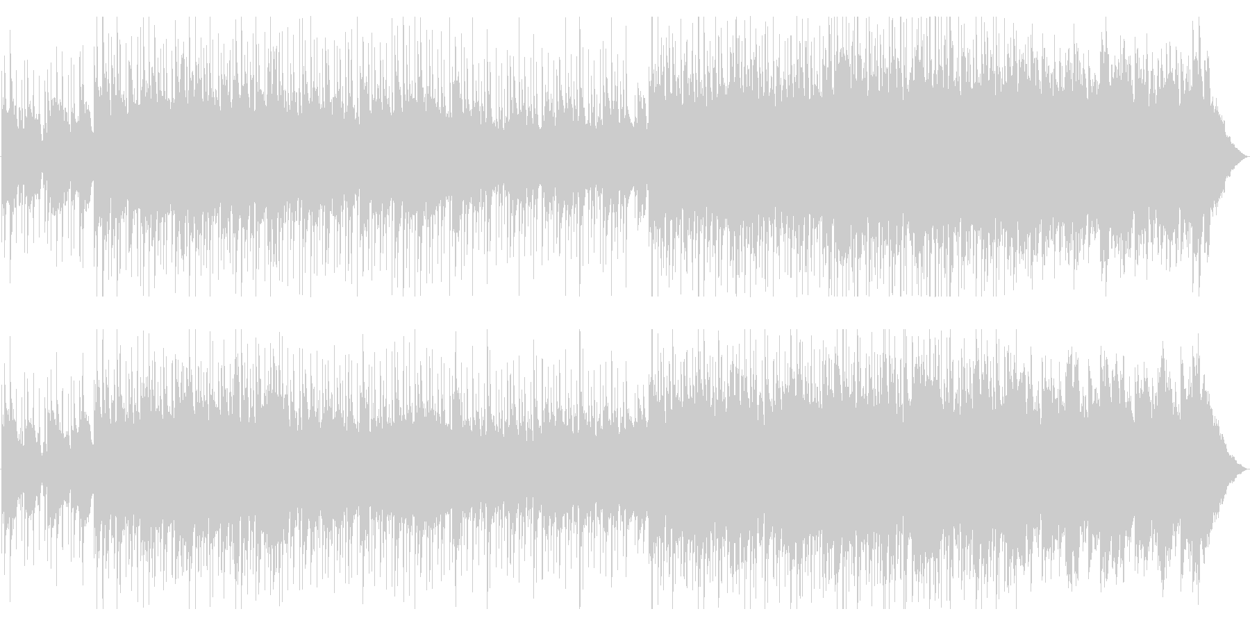 大人びた雰囲気EGとピアノジャズトロニカの未再生の波形