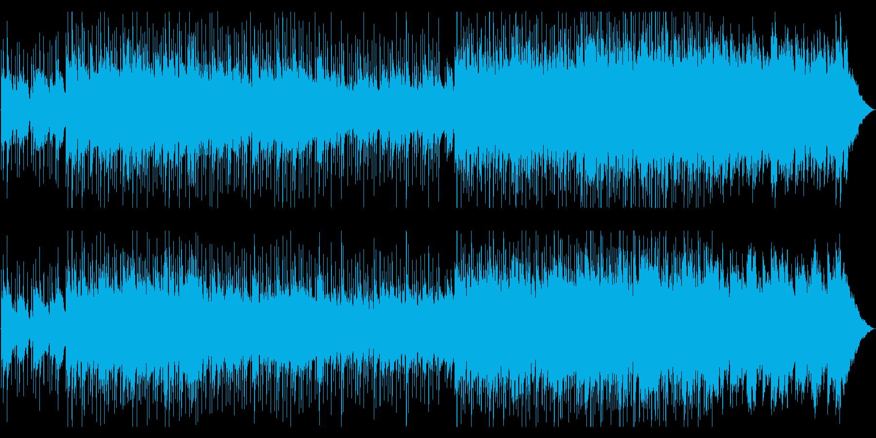 大人びた雰囲気EGとピアノジャズトロニカの再生済みの波形