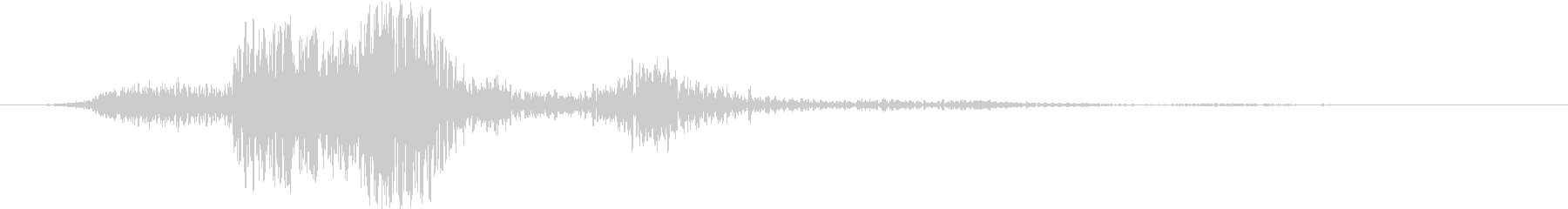 ウーシュサブアンドディープシェーキング2の未再生の波形