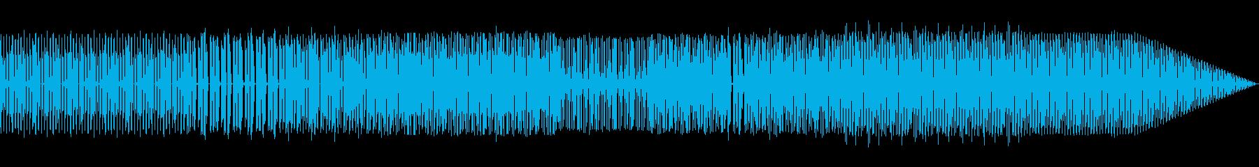 ハウスエレクトロハウスの再生済みの波形