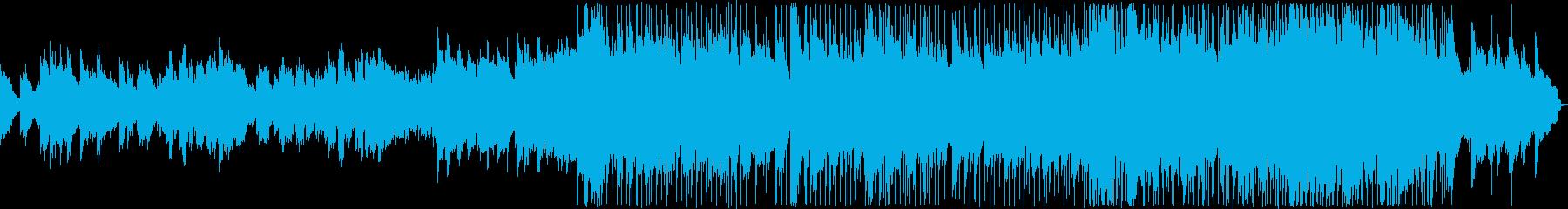 悲しい雰囲気のK-POP風バラード4の再生済みの波形