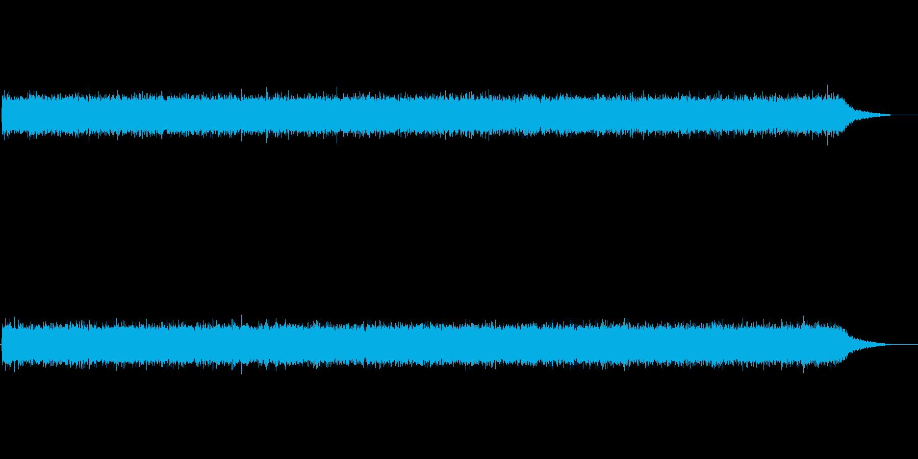 ザーッ(川の流れる音)の再生済みの波形