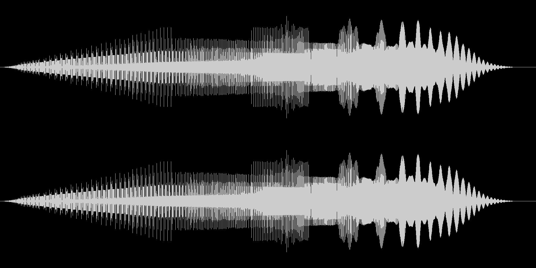 ピューイ(ジャンプ/ファミコン/ピコピコの未再生の波形