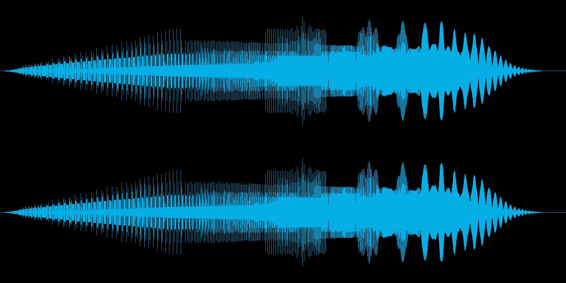 ピューイ(ジャンプ/ファミコン/ピコピコの再生済みの波形